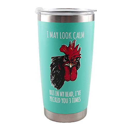 Rooster Themed Tumbler