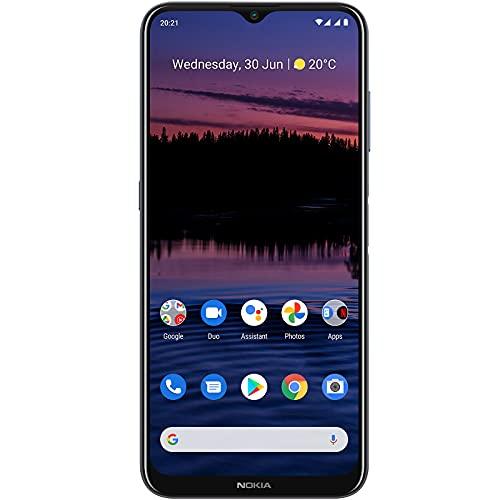 Nokia G20   Android 11   Unlocked Smartphone   3-Day Battery   Dual SIM   US Version   4/128GB   6.52-Inch Screen   48MP Quad Camera   Polar Night