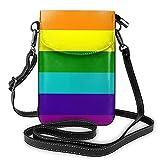 AOOEDM Definición de homosexualidad Bolso pequeño para teléfono con bandolera para mujer, bolsos de hombro para teléfono móvil, tarjetero, cartera, monedero
