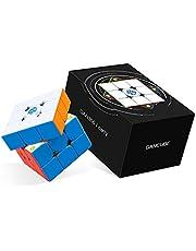 GAN 356 i Carry 3x3 Cube Intelligent Stickerless Cube Puzzle, Suivi Intelligent Chronométrage Mouvements étapes avec CubeStation App