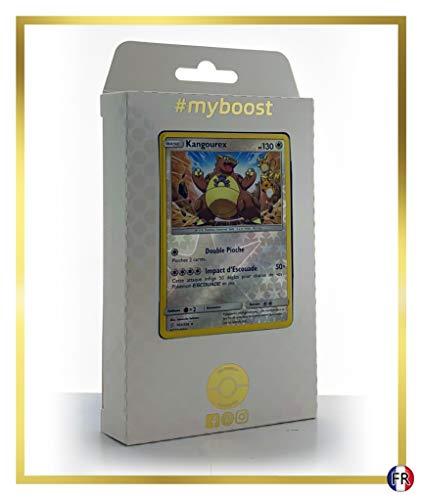 Kangourex 163/236 Holo Reverse - Myboost X Soleil & Lune 11 Harmonie des Esprits - Coffret de 10 Cartes Pokémon Françaises