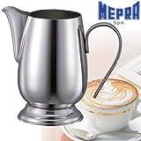 ステンレス製ミルクジャグ(ミルクピッチャー)イタリア製MEPRAメプラ社 ミルクフォーマー(M)550ml