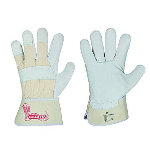 12 Paar - stronghand Rindvolllleder Arbeitshandschuhe Leder Handschuhe Calcutta Gr. 10.5