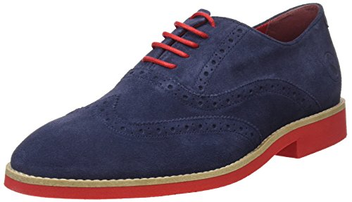 El Ganso M, Zapatos de Cordones Oxford Hombre, Azul (Marino), 40 EU