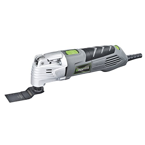 %30 OFF! Genesis GMT25T 2.5 Amp Variable Speed Multi-Purpose Oscillating Tool with 17 Piece Accessor...