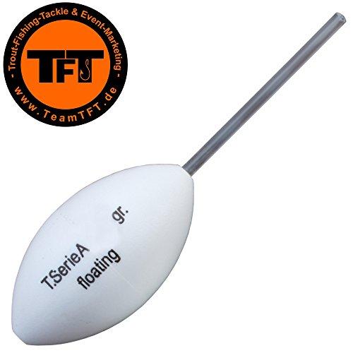 TFT Maracas Oberflächen Rassel - Bombarde Rasseln zum Forellenangeln am Forellensee, Bombarde zum Angeln auf Forelle, Gewicht:15g