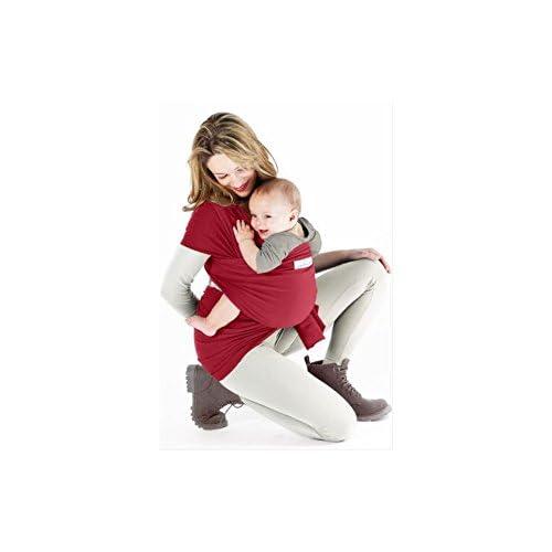 bbe666a2c7e1 je porte mon bébé Basic Echarpe de Portage Rouge Carmin
