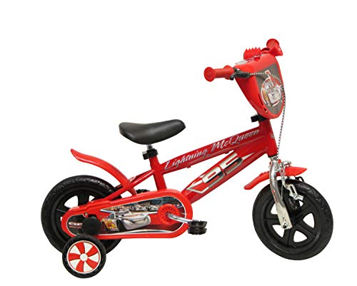 Disney 13163 - 10' Bicicletta Cars Chrome con Freno