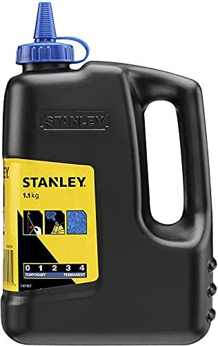 Stanley 1-47-917 Schlagschnurkreide (1.1 kg, für vielseitigen Einsatz, in Kunststoffdose)
