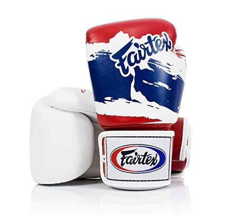Fairtex Boxe Kick Boxen Muay Thai Style Sparring Guanti Training Sacco da boxe Pad, Thai Pride., 397 g