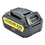 iPrize 18V/20V 5,0Ah Batería para DeWalt XR DCB184 DCB200 DCB182 DCB180 DCB181 DCB182 DCB201