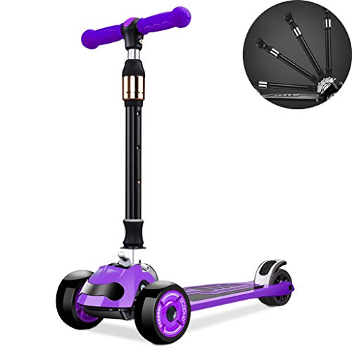Lowest Price! Scooters Self Balancing 2-16 Year Old Male and Female Anti-Skid and Shock-Absorbing Ch...