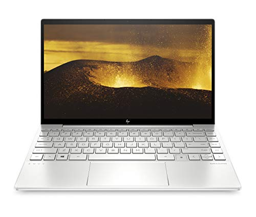 HP ENVY 13-ba0001ng (13,3 Zoll / FHD IPS) Laptop (Intel Core i7-10510U, 16GB DDR4 RAM, 512GB SSD, Nvidia GeForce MX350 2GB, Fingerprintsensor, Windows 10 Home) Silber