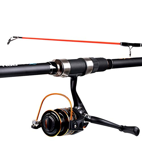 Topshop Telescopic Carbon Fiber Fishing Rod and Reel Combo,Portable Fishing Pole,Fly Fishing Rod,Saltwater Freshwater Fishing,Best Gift