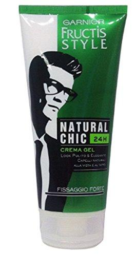 6 X Garnier FRUCTIS STYLE Natural Chic Crema Gel per capelli uomo
