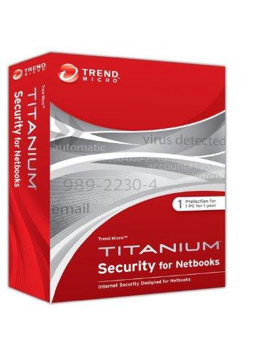 Trend Micro Titanium Security for Netbooks (1 PC, 1 Jahr, DVD)