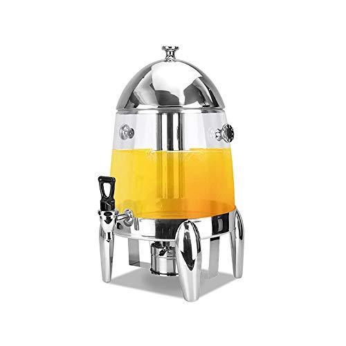 Keliour Fuente de bebida de cerveza de acero inoxidable con soporte de cuatro patas en forma de huevo para la barra del hogar (color: plata, tamaño: 28 x 28 x 50 cm)