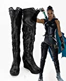 Thor Ragnarok Valkyrie Cosplay botas zapatos Thor 3 disfraz de Cosplay para Halloween mujeres adultas hecho a medida 41