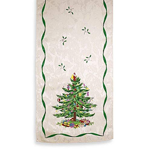 Spode Christmas Tree Runner 14' X 72'