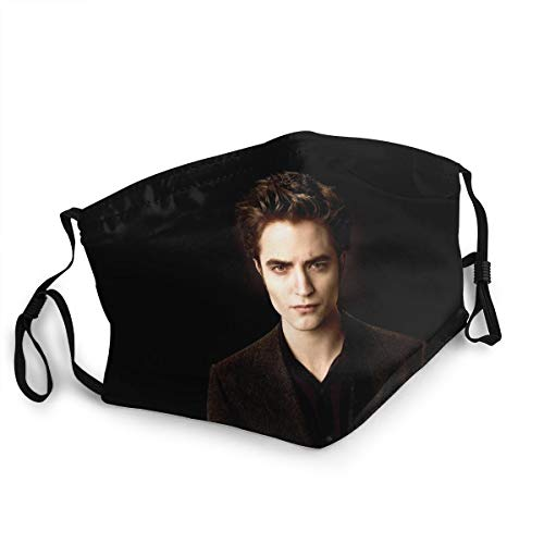 Twilight Edward Cullen Outdoor Mask,Protective 5-Layer Activated Carbon Filters Adult Men Women Bandana