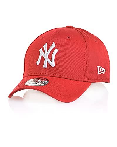New Era New York Yankees, Cappellino snapback, Uomo, Taglia unica, Scarlatto/Bianco