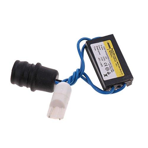Baoblaze Annulation d'Erreur de Flash LED de Phare Adaptateur T10 12V DC
