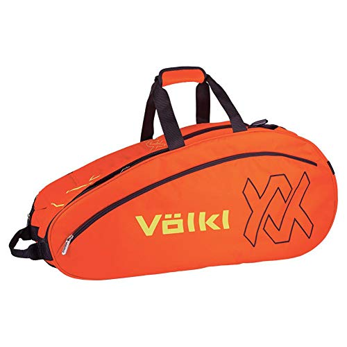 Volkl Team Combi 6 Pack Tennis Bag - Lava/Yellow