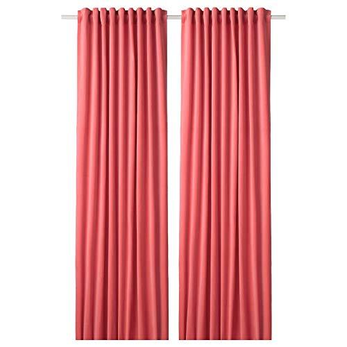 My- Stylo Collection Raum-Verdunklungsgardine 1 Paar Hellbraun-rot Produktgröße: Länge: 250 cm Breite: 140 cm Gewicht: 2,13 kg Fläche: 3,50 m2 Verpackungsmenge: 2 Stück
