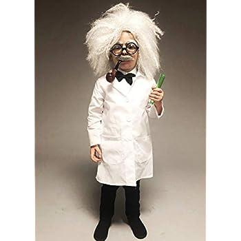 Magic Box Disfraz de científico Loco del Estilo de Einstein del ...