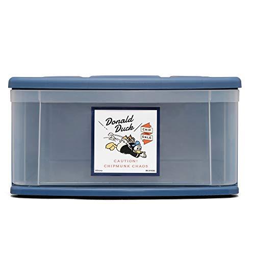 アイリスオーヤマチェストI衣装ケース引き出しディズニードナルド/ブルー幅37.6×奥行52.8×高さ19.7cmM