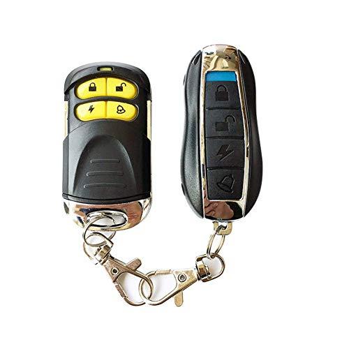 Acreny 1 Juego Moto Seguridad Antirrobo Sistema de Alarma Distancia Control 12V