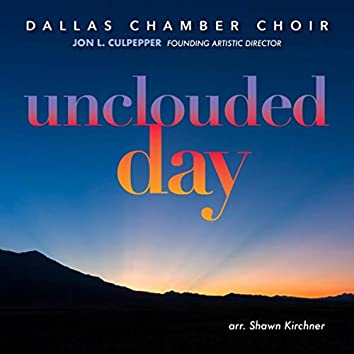 Unclouded Day [Live]