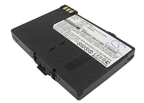 TECHTEK batería sustituye EBA-510, para L36145-K1310-X401, para L36880-N5601-A100, para S30852-D1752-X1, para V30145-K1310-X250, para V30145-K1310-X401 Compatible con [KPN] 500 Micro, Chicago 700E, C