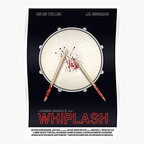 Design Graphic Movie Miles Teller Film Whiplash Home Decor Wall Art Print Poster ! Home Decor Wandkunst drucken Poster !
