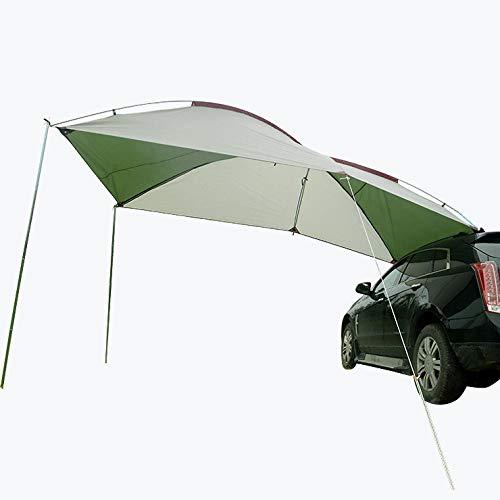 ASADVE Heckzelt Campingzelt Auto Zelt Außendach, Zelt, Camping, Aufruhr, Regenauto, Autoseite, Selbstfahrende SUV-Autoausrüstung, Autoheckdachzelt