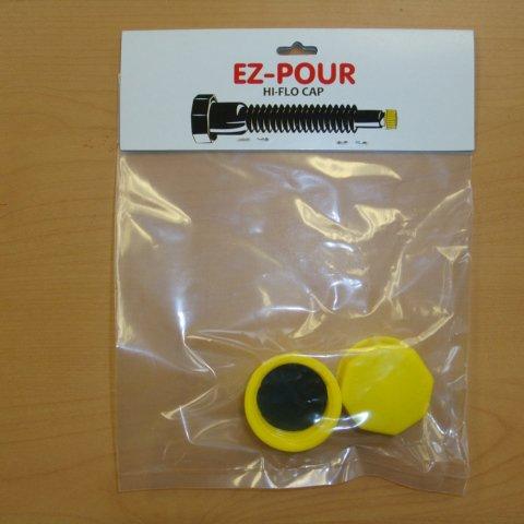 EZ-POUR Replacement HI-FLO Spout Cap 2 pack - Update your Can!