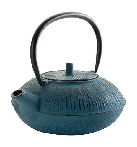 Lacor - 68661 - Tetera De Hierro Fundido 1,1 Litros - Azul