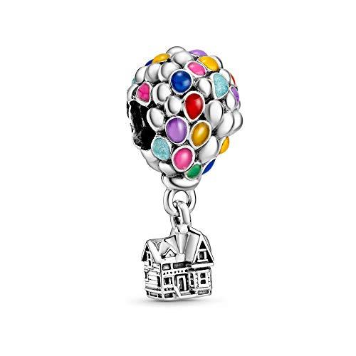 Pandora Disney Up 798962C01 - Charm argento/multicolore, 11 x 23,5 x 11 mm