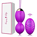Kegel Balls for Women, Ben Wa Balls for Pelvic Floor Strengthening & Tightening, Bladder Control, Kegel Exercise Weights Balls for Beginners & Advanced, Ben Wa Balls
