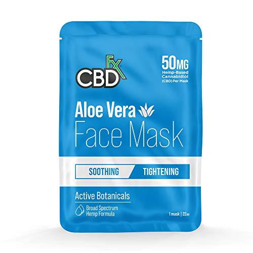 CBDfx Aloe Vera CBD Gesichtsmaske, 50 mg...