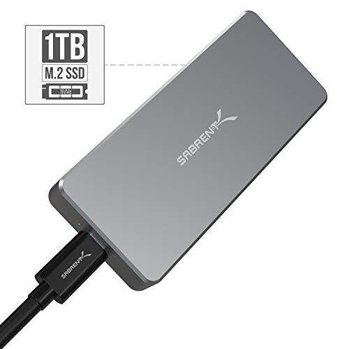 Sabrent Rocket Pro 1TB USB External Aluminum SSD