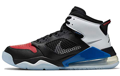 Nike Air Jordan Mars 270 Mens Basketball Trainers Cd7070 Sneakers Shoes, Black/Reflect Silver-gym Red-game Royal, 10.5