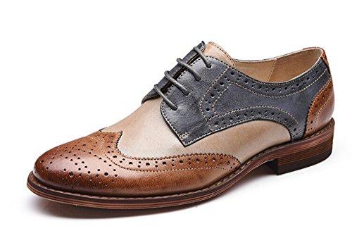 Women Oxford leather shoes E215 (10 B(M)US, B)