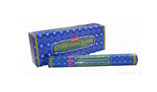 Hem Incense Box - (6 pack = 120 sticks) (Frankincense & Myrrh)
