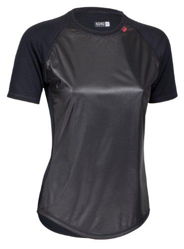 Rono Accu M WS T-shirt fonctionnel pour femme Noir (900) Noir (900) 36