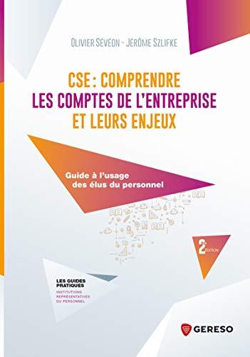 CSE : comprendre les comptes de l'entreprise et leurs enjeux: Guide à l'usage des élus du personnel (Les guides pratiques)