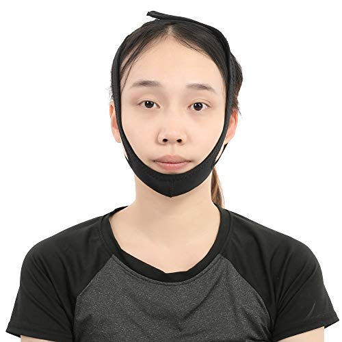 Masque Minceur Facial Respirant Lifting Face Ceinture Anti-Double Chin Care Ceintures Réduire Double Chin V Face Line Bandages Ultra-mince Strap Band