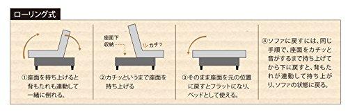 大川家具関家具ソファベッド196cm幅Cタイプ173990