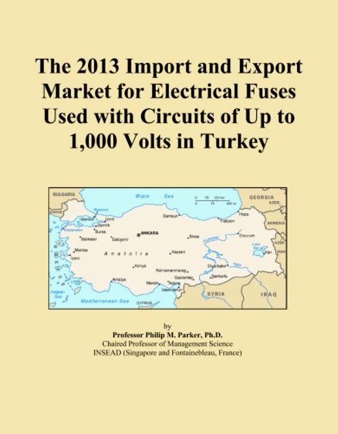 不愉快にビジネスオフェンスThe 2013 Import and Export Market for Electrical Fuses Used with Circuits of Up to 1,000 Volts in Turkey