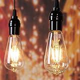 Led Light Bulbs 6 Packs, 60 Watt Equivalent, Dimmable Edison Light Bulb 6W E26 Base Vintage Led Bulbs, Clear Bulbs Warm White Light